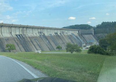 The dam!